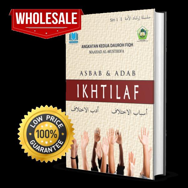 [BORONG] Asbab & Adab Ikhtilaf – MOQ : 30 Unit